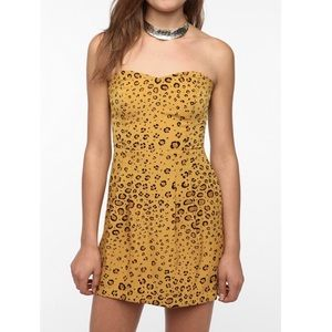 Urban Outfitters cheetah pattern dress, so cute!